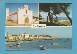CABANAS - Tavira - ALGARVE - Portugal - Foto-Vista N.º 1140- 2 SCANS - Faro