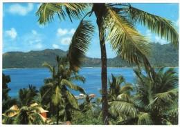 SEYCHELLES - BAIE ST.ANNE, PRASLIN / THEMATIC STAMPS-BIRD-TURTLE - Seychelles