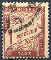 FRANCE Taxe 1896 - Yv.39 (Mi.Porto 34, Sc.J40) Used (VF) - Portomarken