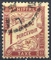 FRANCE Taxe 1896 - Yv.39 (Mi.Porto 34, Sc.J40) Used (VF) - Impuestos