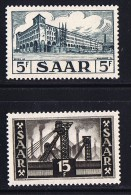1952  Poste Centrale Et Puits De Mine  Yv 309, 313 ** MNH - Neufs
