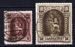 1925  Pieta  Les Deux Valeurs  Yv 101-2  Oblitérés - Oblitérés
