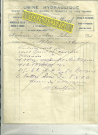 39 - Jura - ST-BENOIT-LA-CHAPELLE - Facture BUFFARD - Manches Pelles Et Pioches - Tournerie - Scierie - 1937 - 1900 – 1949