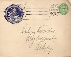 Denmark Old Stationary Cover - Postal Stationery