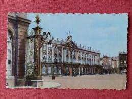 Dep 54 , Cpsm NANCY , Place Stanislas , Hotel De Ville (coté Sud) (515)Recto/Verso - Nancy