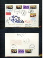 Jugoslawien / Yugoslavia 1989 Grand Prix Yugoslavia Motorbike Raceson Value Declared Letter FDC - Motorbikes