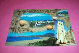 MULTIVUE  °   ARGELES  PLAGE  DE SABLE FIN ET LE CHARME D'UN VILLAGE AUTHENTIQUE LE 18 07 2002 - Argeles Sur Mer