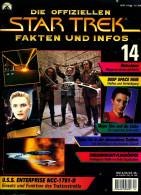 Zeitschrift  Die Offiziellen STAR TREK Fakten Und Infos -  Heft 14 / 1998  -  U.S.S. Enterprise NCC-1701-E - Film & TV