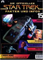 Zeitschrift  Die Offiziellen STAR TREK Fakten Und Infos -  Heft 15 / 1998  -  Die Sikarianer - Station Farpoint - Film & TV
