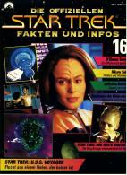 Zeitschrift  Die Offiziellen STAR TREK Fakten Und Infos -  Heft 16 / 1998  -  Der Erste Kontakt - Film & TV