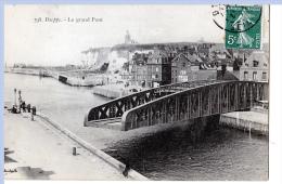 Dieppe (Seine-Maritime)  Le Pont Tournant.    LES 2 CARTES - Dieppe