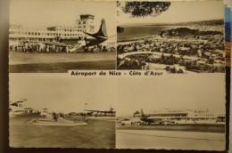 AEROPORT / FLUGHAFEN  / AIRPORT     NICE COTE D AZUR - Aerodrome
