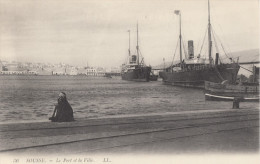 CPA - Sousse - Le Port Et La Ville - Tunesien