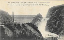 La Vallée Du Cher - Barrage De Rochebut - Digue Et Cascade Du Déversoir - Francia