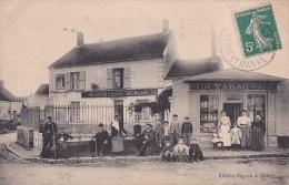 77 -- VILBERT -- Vins Liqueurs A.Duveau - Café Billard -- Tabacs - Epicerie - Mercerie - France