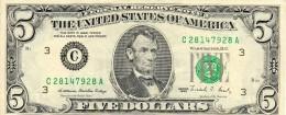 Amérique Du Nord - 5 Dollards  - 1988 - - Banknoten