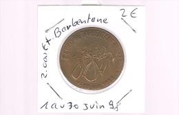 2 EURO De BARBENTANE . 2 000 Exemplaires . - Euros Of The Cities