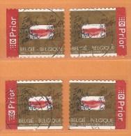 COB  3499-3499c (o) - (Lot 93) - Belgique