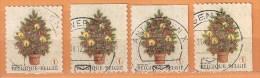 COB  3734-3734c (o) - (Lot 214) - Belgique