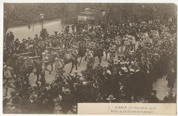 7 Colmar  18/11/1918  Defilé Artillerie De Montagne Chasseurs Alpins - Colmar