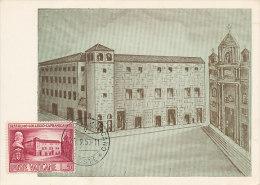 D16161 CARTE MAXIMUM CARD 1957 VATICAN - COLLEGIO CAPRANICA CP ORIGINAL - Other