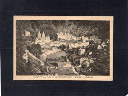 46604    Lussemburgo,  Clervaux,  Eglise  Et   Chateau,  NV - Clervaux
