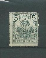 HAITI 1896 Y.T. 36  MNH/** LEGERE ADHERENCE - Haïti