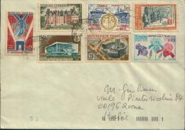 1996 FRANCE X ROMA - Cartas