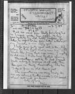 1943 GB Airgraph MEF Middle East Forces - Paisley Scotland - 1939-45