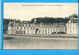 CP, 28, CHATEAU DES VAUX, Façade Principale, Vierge - France
