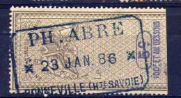 1886---BONNEVILLE-- 74---Effet De Commerce  Type Allégorique  5c --PH..ABRE - Steuermarken
