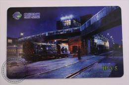 China Tietong Phone Card - Train/ Railway  Engine/ Steam Locomotive , Railway Station - Trenes