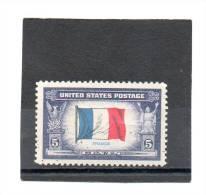 ETATS-UNIS   5 C   Année 1943-44   Y&T: 464   (neuf Sans Charnière) - Nuevos
