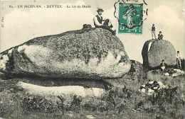 Saone Et Loire - Ref A522- En Morvan -dettey - Le Lit Du Diable  -carte Bon Etat - - France