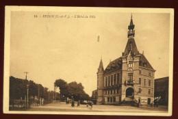 Cpa Du 35  Redon L´ Hôtel De Ville  LAM8 - Redon