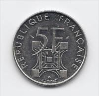 -  5 Fr.- Pièce Commémorative Du Centenaire De  La Tour Eiffel - - Commémoratives