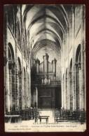 Cpa Du 46  Figeac Intérieur De L´église De Saint Sauveur  Les Orgues LAM8 - Figeac