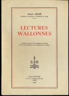 Lectures Wallonnes - Robert Grafé - 1959 - Bücher, Zeitschriften, Comics