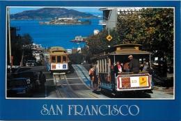Cable Cars, Hyde Street, San Francisco, California, United States US Postcard #2 - San Francisco