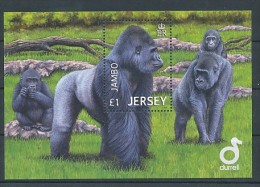 JERSEY Mi.Nr.  Block 103 Affe - MNH - Jersey