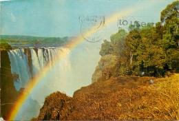 Victoria Falls, Zimbabwe Postcard Posted 1982 - Zimbabwe