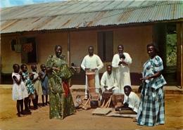 Muganda Dancers, Uganda Postcard - Uganda