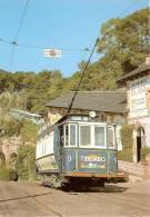 Nº37 POSTAL DE ESPAÑA DE EL TRANVIA BLAU DEL TIBIDABO  (TREN-TRAIN-ZUG) AMICS DEL FERROCARRIL - Tranvía