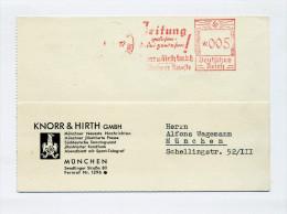 1937 3.Reich Freistempelbeleg 5 Pfg München Wg. Segelflug Modellwettbewerb - Allemagne