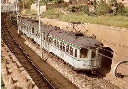 Nº62 POSTAL DE ESPAÑA DE UN FERROCARRIL DE CATALUNYA  (TREN-TRAIN-ZUG) AMICS DEL FERROCARRIL - Trenes