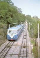 Nº123 POSTAL DE ESPAÑA DE EL FUNICULAR DEL TIBIDABO (TREN-TRAIN-ZUG) AMICS DEL FERROCARRIL - Tranvía