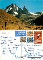 Mt Kenya And Teleki Valley, Kenya Postcard Posted 1970 Nice Stamp - Kenya