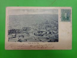 Vista De La Paz -cachet Via Tupiza Rep Argent. - Bolivie