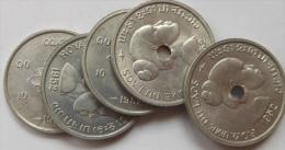Laos 10 Cents 1952 Km4 UNC (prix Pour 1 Pièce) - Laos