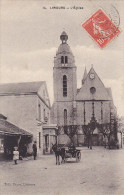 23416 -LIMOURS L' Eglise - Ed14  Caron -attelage